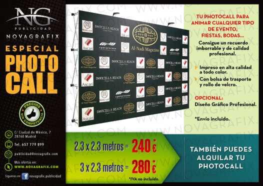 Imagen Photocall publicidad