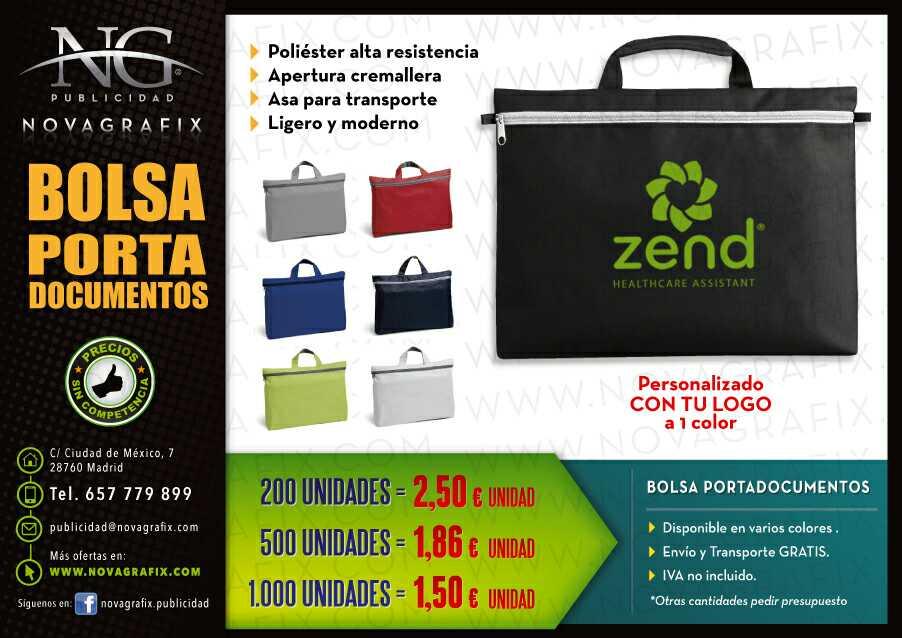 Imagen Bolsas portadocumentos publicidad