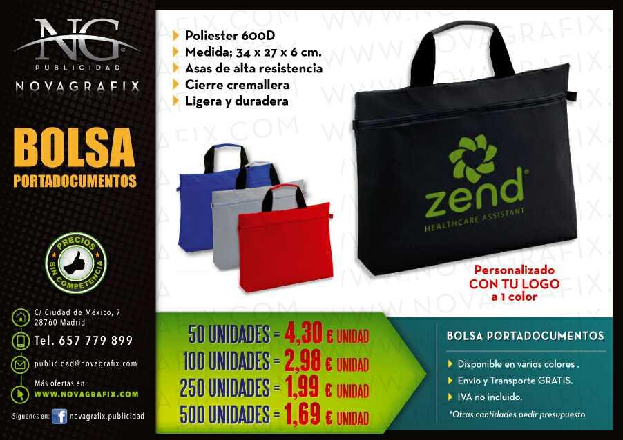 Imagen producto Bolsas portadocumentos publicidad  2