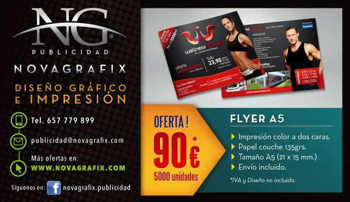 Imagen producto Flyers y soporte de flyers  1