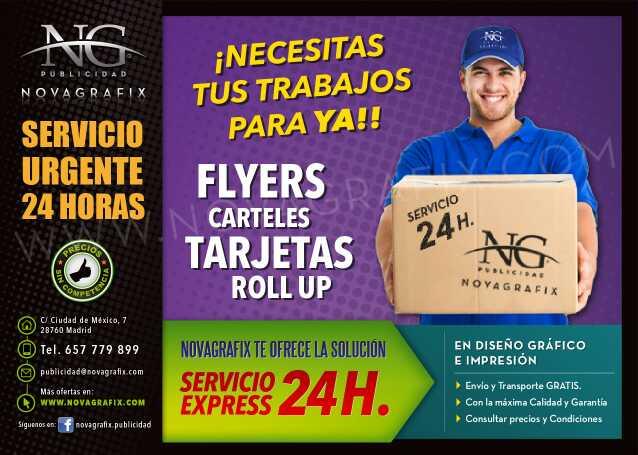 Imagen Servicios urgentes 24h y logotipo empresa
