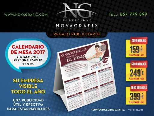 Imagen Calendarios de mesa y de bolsillo año 2017