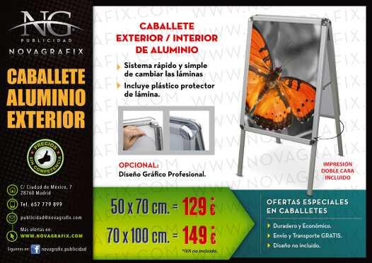 Imagen producto Caballetes exterior interior publicidad  2