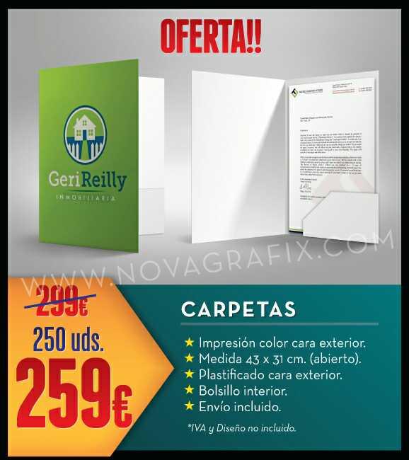 Imagen Carpetas publicitarias