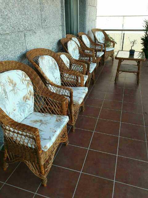 Imagen producto Muebles de terraza artesanos mimbre 2