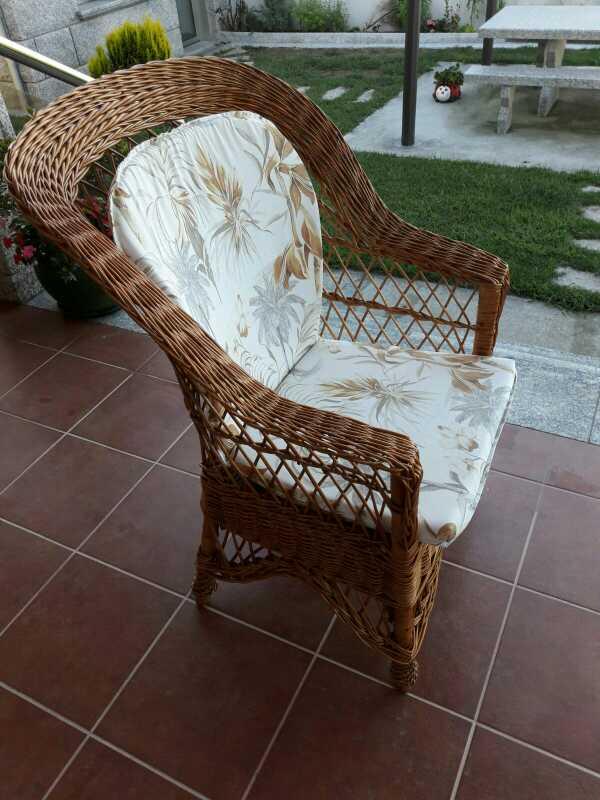 Imagen producto Muebles de terraza artesanos mimbre 4