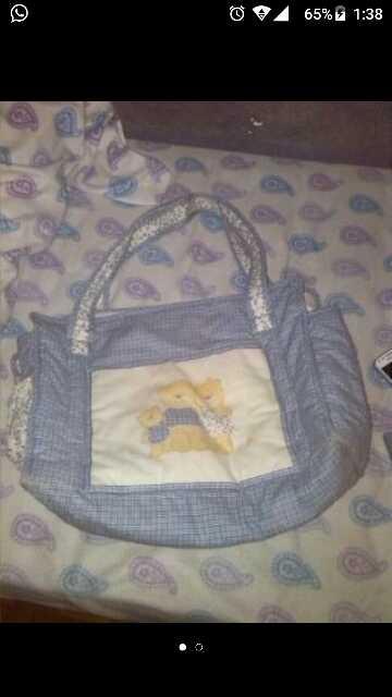 Imagen bolsa carro bebe,moda del bebe