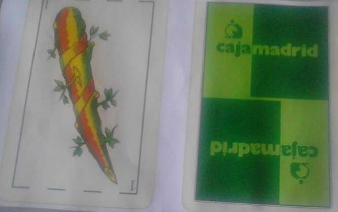 Imagen baraja española caja madrid