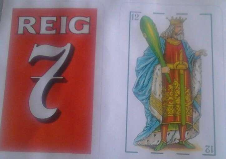 Imagen baraja reig 7