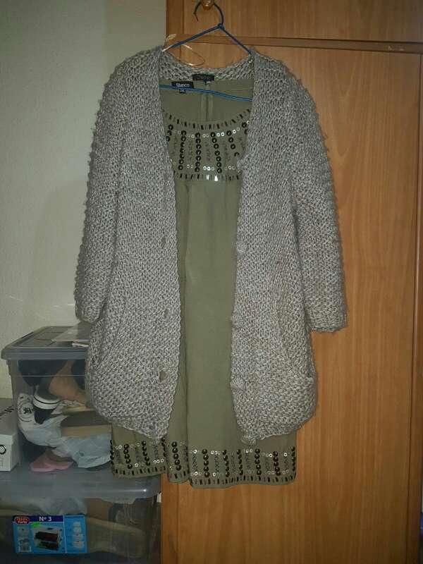 Imagen vestido y chaqueta