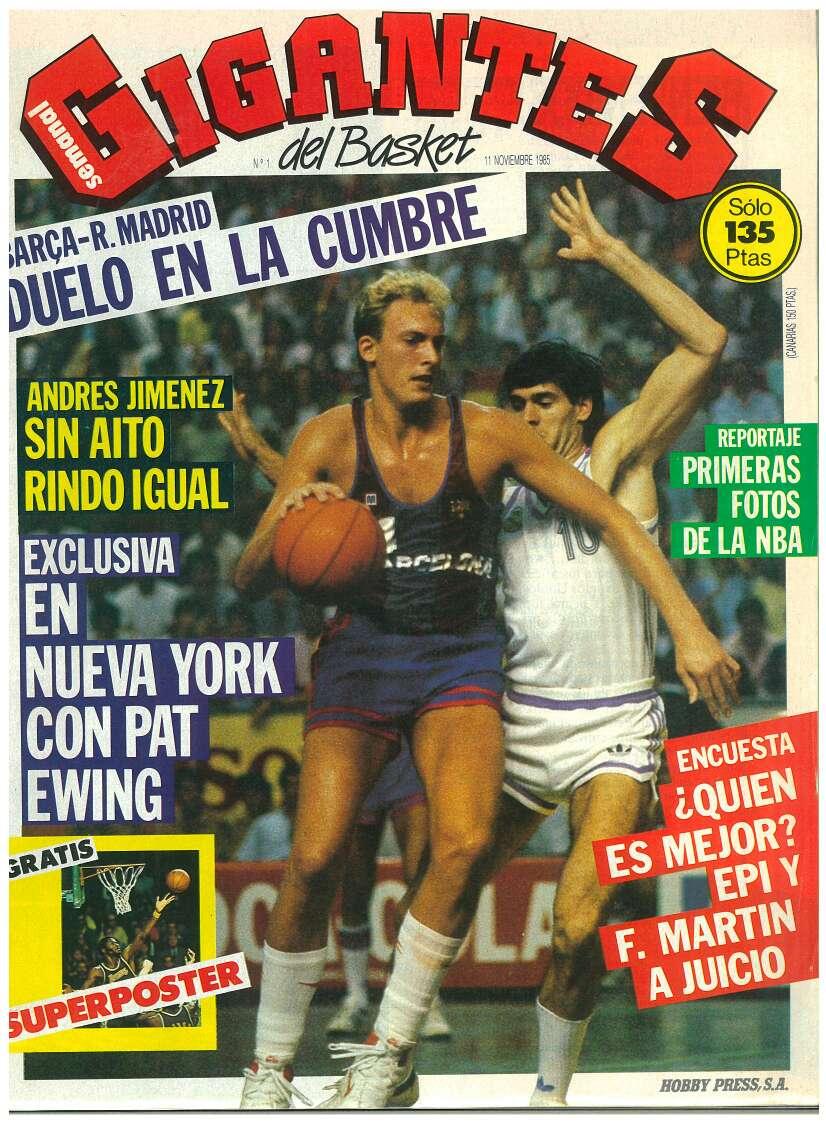 Imagen revistas gigantes del basket