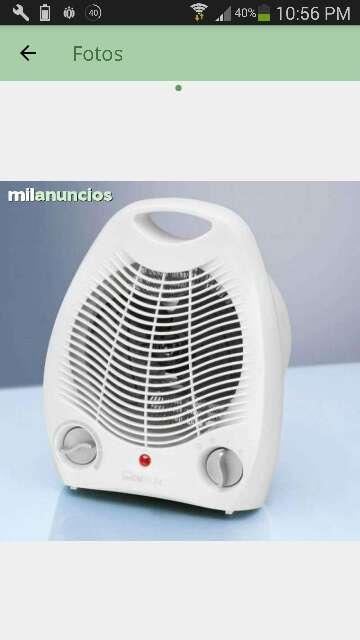 Imagen producto Calefactor eléctrico Nuevo a estrenar 1