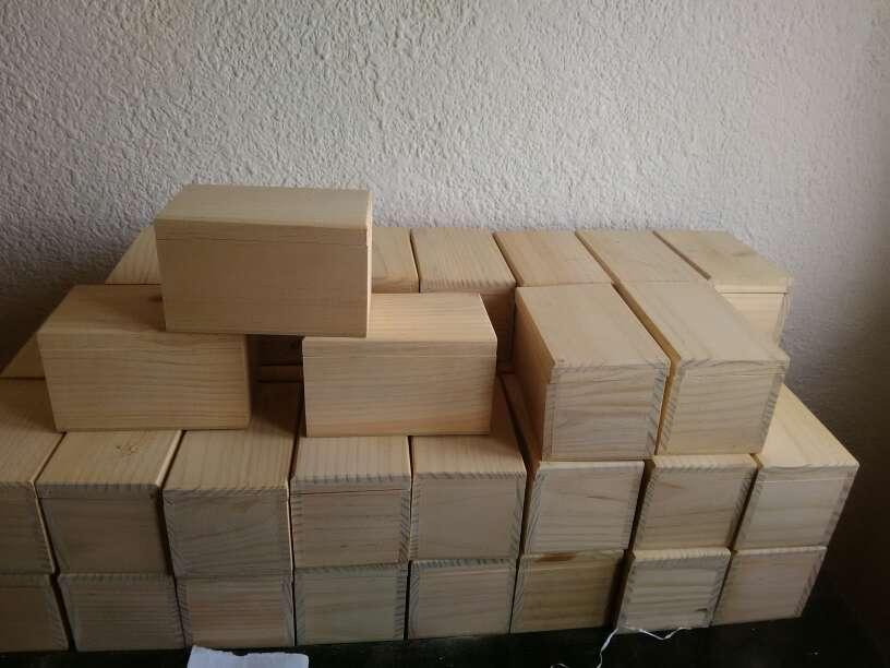 Imagen producto Cajas de madera a 1,50€ 4