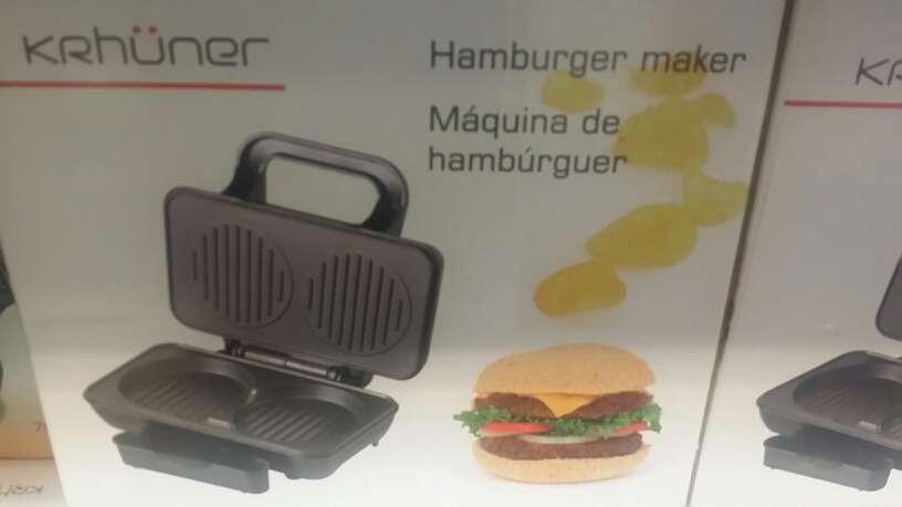 Imagen máquina para hacer hamburguesas