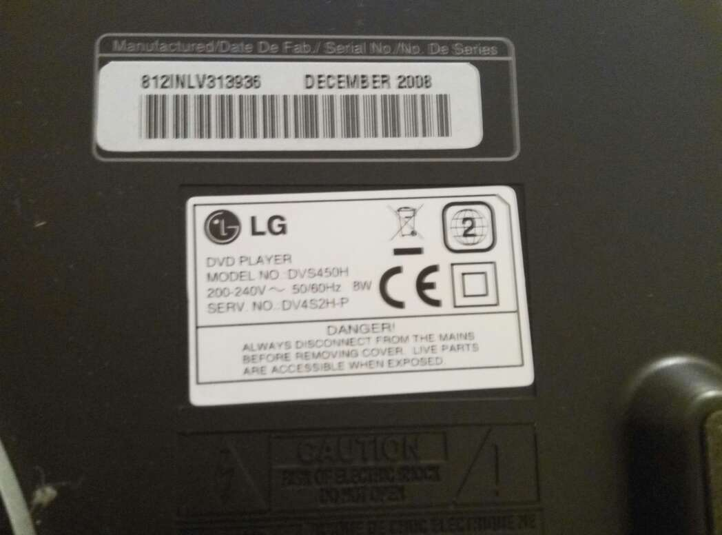 Imagen producto Reproductor CD DVD LG 4
