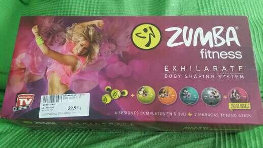Imagen Zumba Fitness Exhilarate