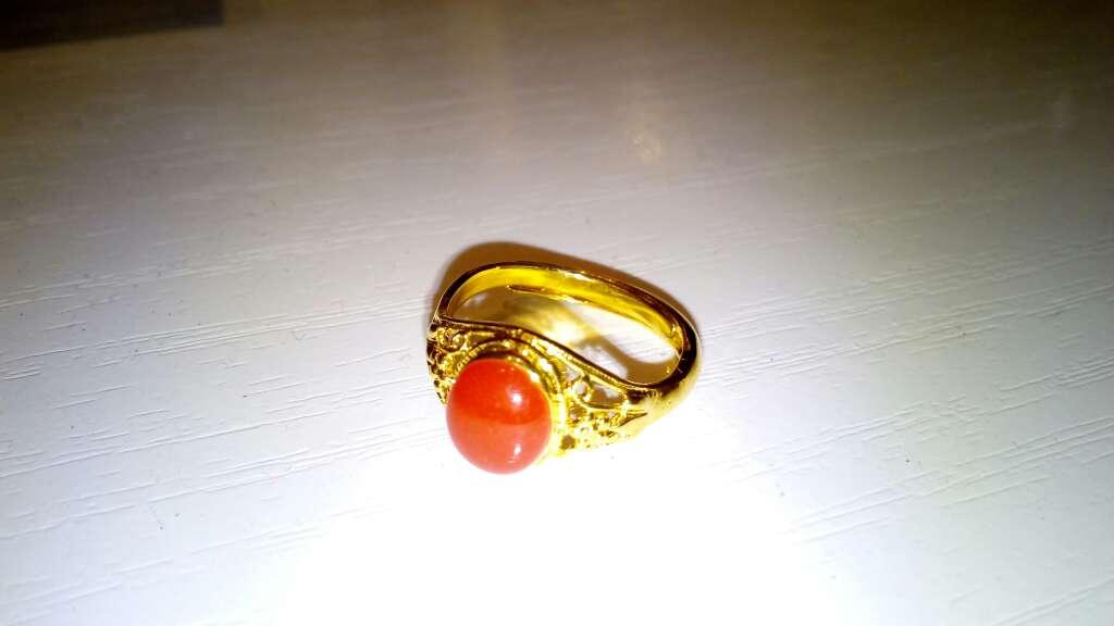 Imagen anillo rojo
