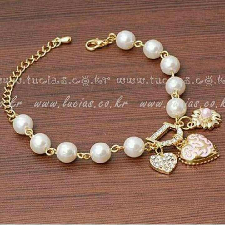 Imagen pulsera perlas