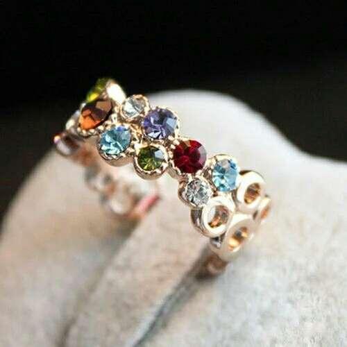 Imagen anillo colorines