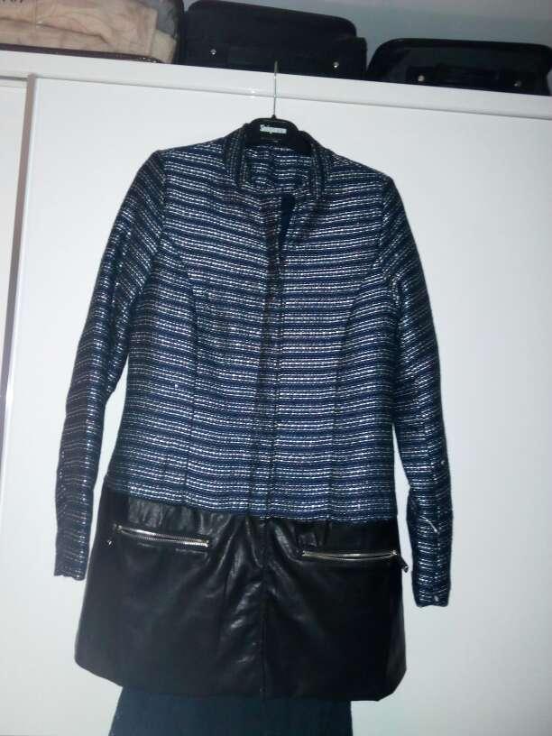 Imagen chaqueta larga de mujer
