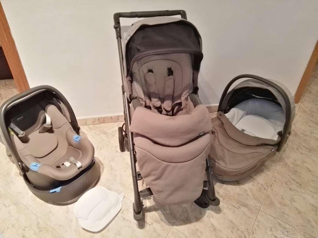 Imagen carro bebé chico trío love regalo