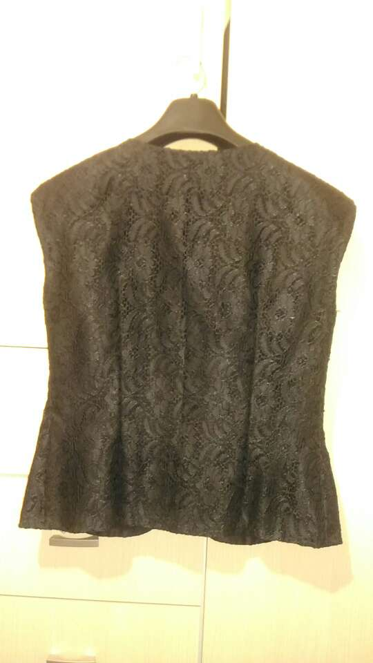 Imagen producto Camisa/chaleco mujer de encaje 1