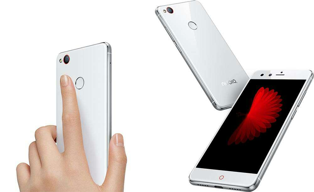 Imagen móvil nubia z11 mini blanco nuevo