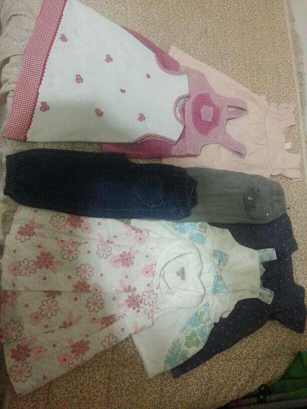 Imagen lote vestido niña talla 6 a 18 meses
