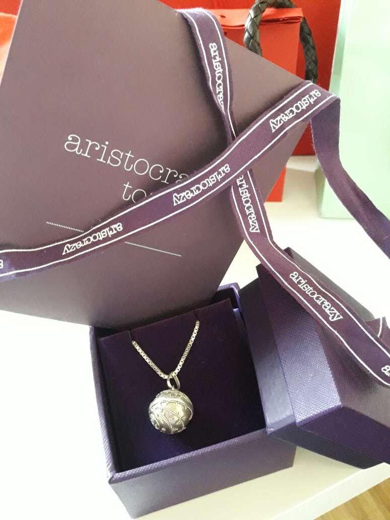 Imagen producto Collar plata aristocrazy  2