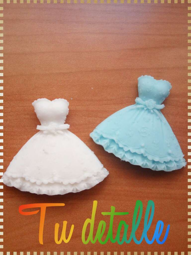 Imagen vestidos de jabon