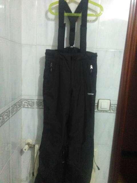 Imagen económico pantalón de nieve con tirantes talla 12 color negro