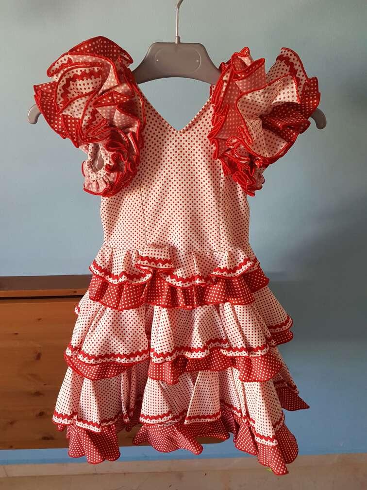 Imagen traje flamenca niña