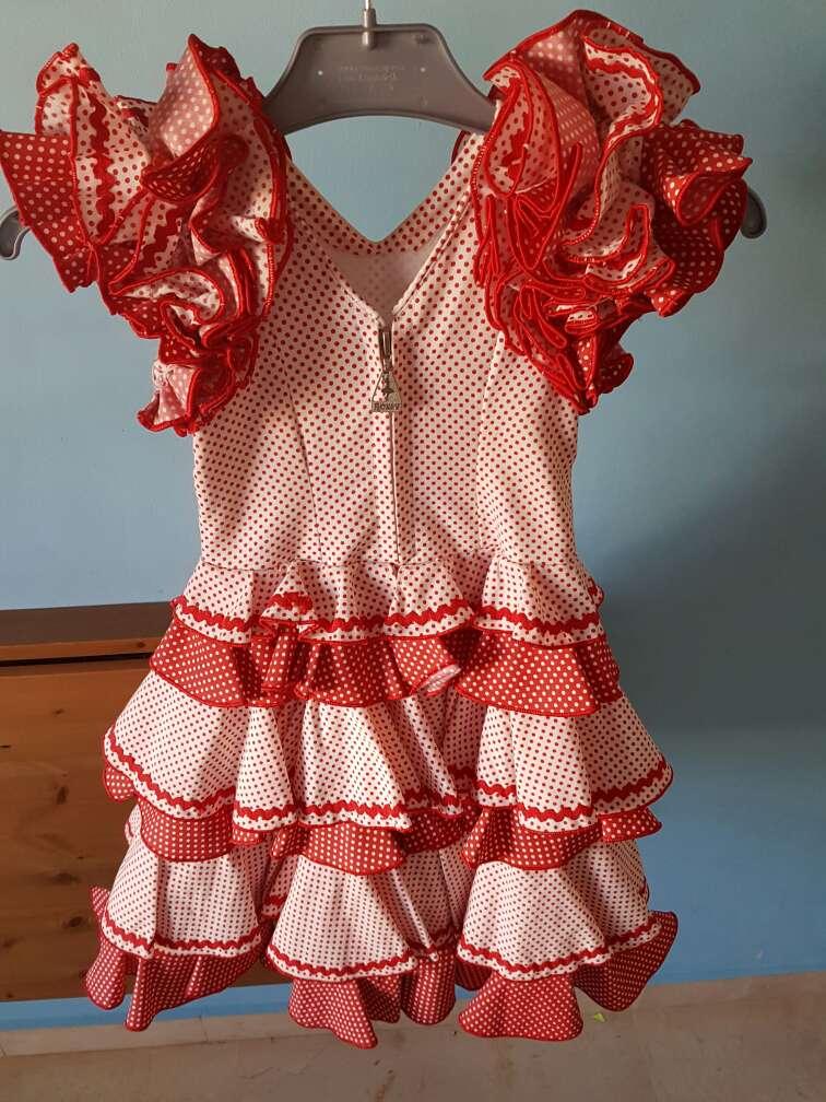 Imagen producto Traje flamenca niña  2