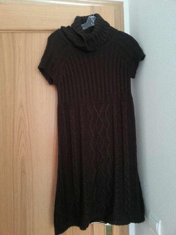 Imagen producto Vestido invierno lana marrón 1