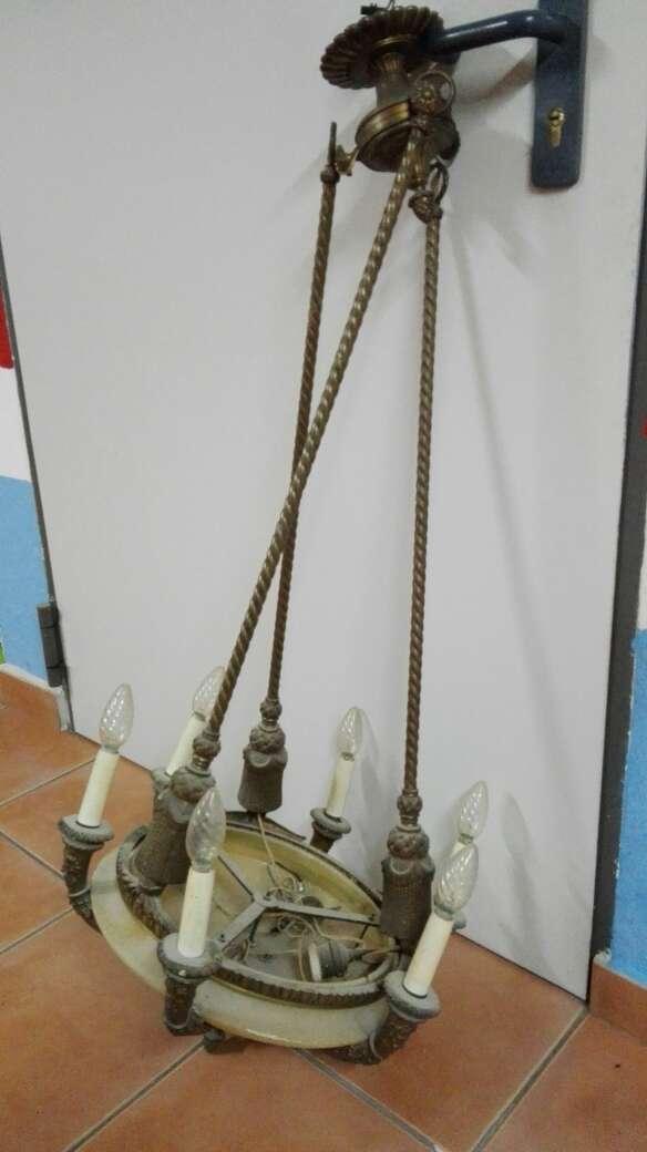 Imagen producto Lámpara techo antigua 4