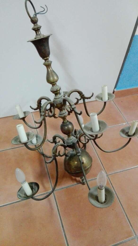 Imagen lámpara techo antigua