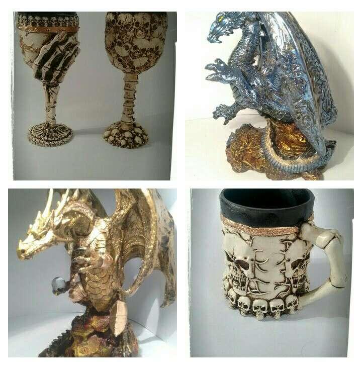 Imagen Tazas Artesanales, Dragones etc... (varios)