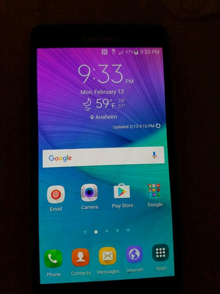 Imagen producto Galaxy note 4 2