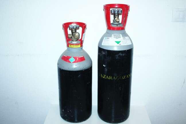 Imagen producto Botellas de gas pata cerveza 2