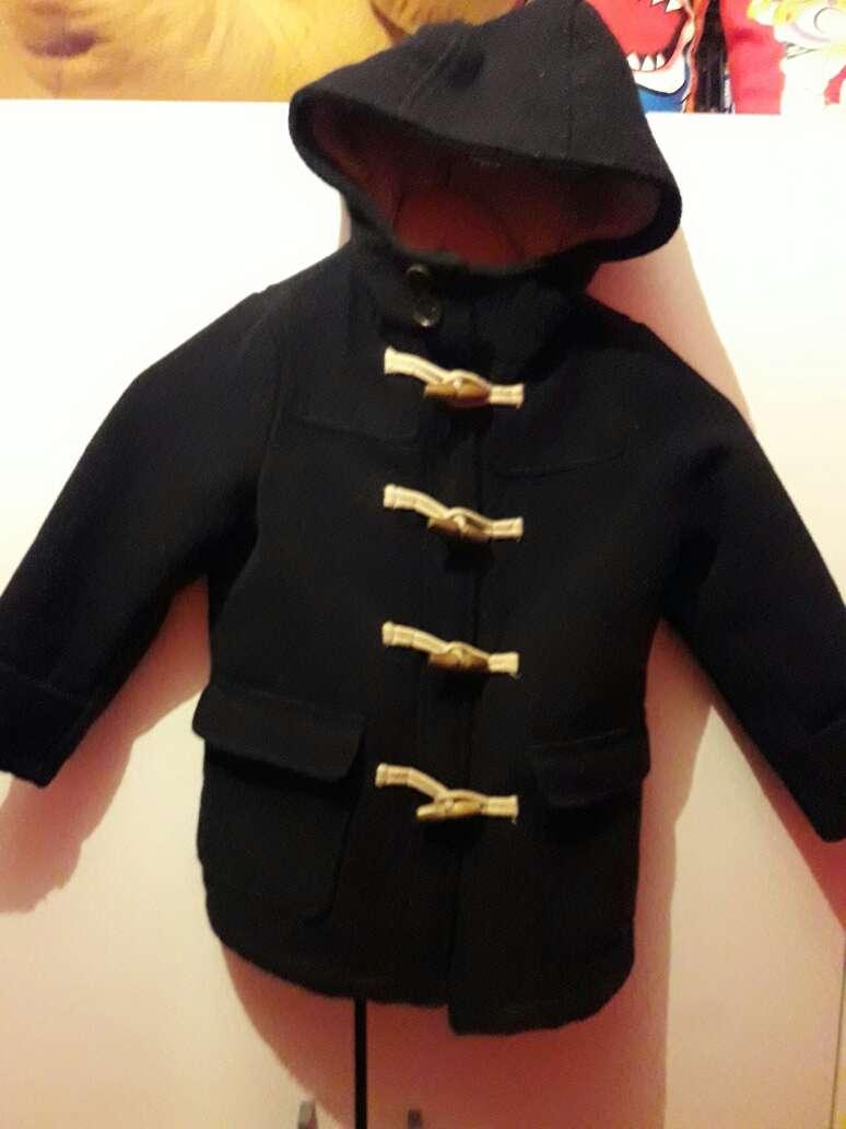 Imagen abrigo de niño de Zara
