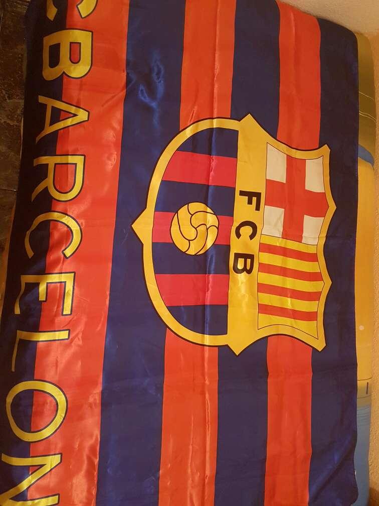 Imagen bandera fc barcelona