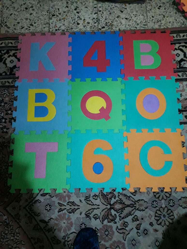 Imagen alfombra puzle foam