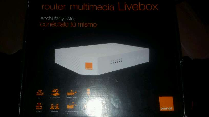Imagen router orange