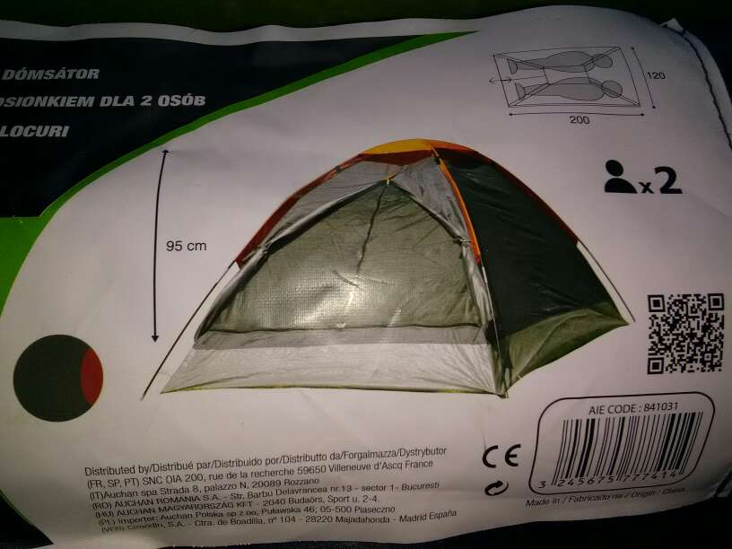 Imagen tienda de acampada