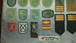 Imagen parches militares