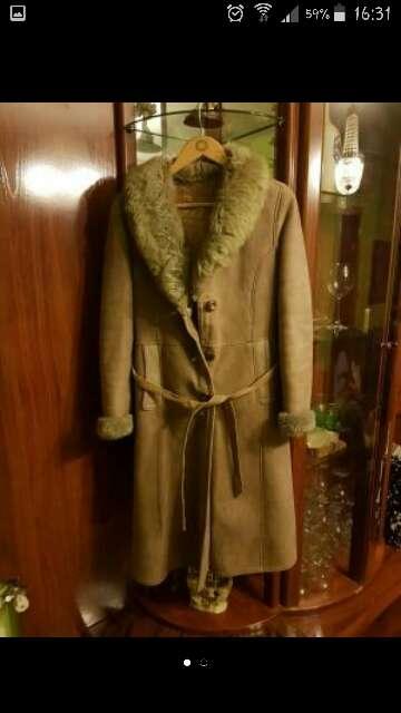 Imagen abrigo piel vuelta talla  38-40