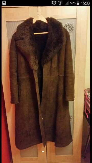 Imagen abrigo piel vuelta talla 40-42
