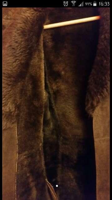 Imagen producto Abrigo piel vuelta talla 40-42 2