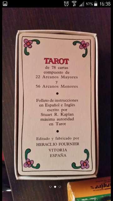 Imagen producto Cartas del tarot autenticas 2
