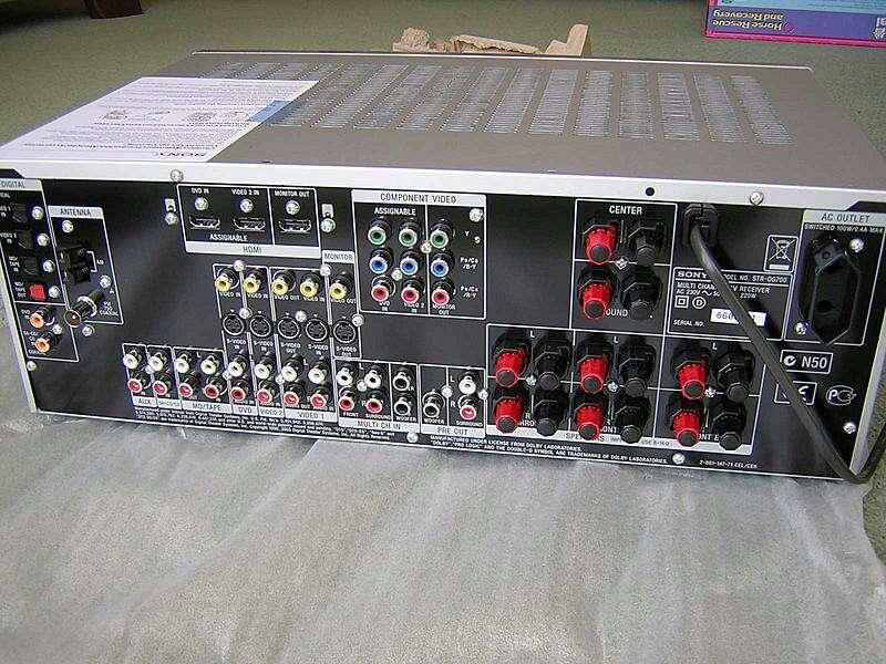 Imagen producto Systema Audio Sony 6.1 HDMI  2